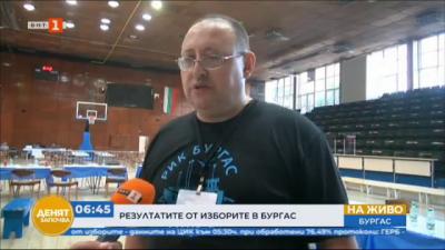 Избирателната активност в Бургас е около 42,82%