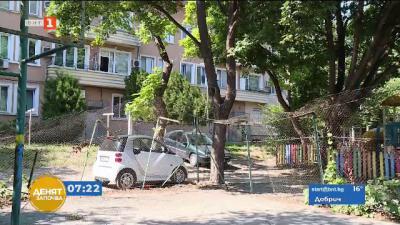 Опасна спортна площадка във Варна. Ще бъде ли ремонтирана?