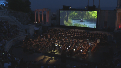 Властелинът на пръстените - завръщането на краля оживява  на Античния театър в Пловдив