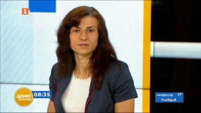 """Златната медалистка от Токио Стойка Кръстева в студиото на """"Денят започва"""""""