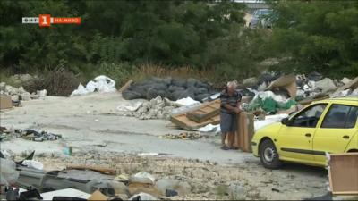 Сурово с рекултивирано депо за отпадъци