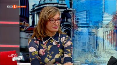 Екатерина Захариева: Недопустимо е служебен вътрешен министър да заплашва опозиционния лидер