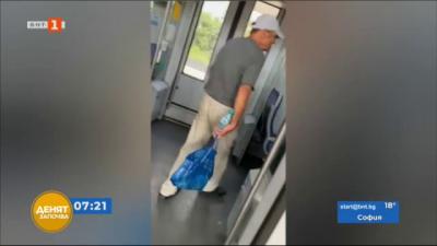 По зрителски сигнал: Без маски във влаковете