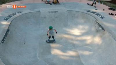 Майстори на скейтборда мериха сили на състезанието Цар Атак в Царево