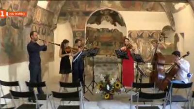 Камерна музика в каменна църква в Арбанаси