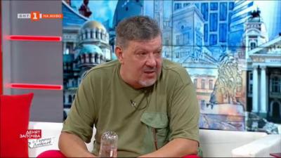 Актьорът Август Попов за шоуто в политиката и политиката като шоу