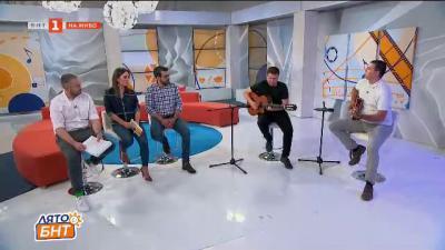 Акустично с китаристите проф. Цветан Недялков и Христо Нейчев