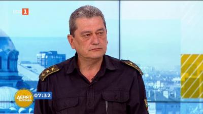 Гл. комисар Николай Николов: Ситуацията в страна с пожарите към момента е под контрол