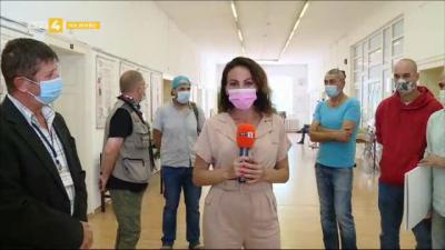 Кадрите от фотоизложбата Пандемичен фоторепортер влизат в Държавния архив