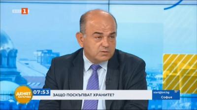 Владимир Иванов: Лошият климат е причина за поскъпването на плодовете и зеленчуците