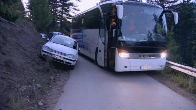 Пътен инцидент край село Борово