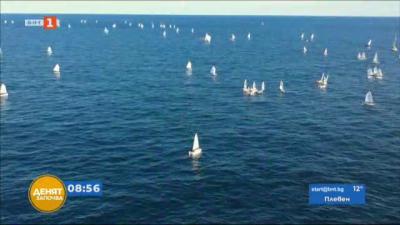 115 спортисти се събраха в залива край Царево на ветроходната регата Съединение
