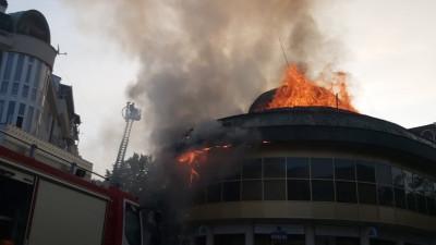 Пожарът на Купола в Благоевград - какви са щетите?