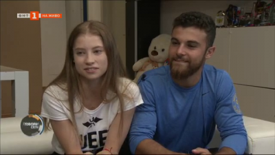Шампионска среща с Ерика Зафирова и Давид Хъдълстоун