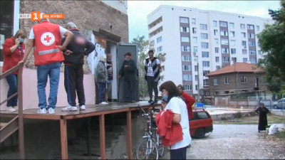 БЧК стартира раздаване на хранителните помощи в Пазарджик