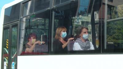 РЗИ прави проверки за носене на маски в градския транспорт