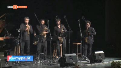 """Концертът на саксофонен квартет """"SIGNUM"""" и Кай Шумахер"""