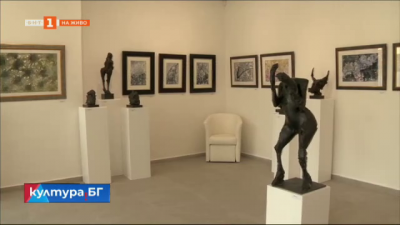 Вежди Рашидов откри нова галерия с авторска изложба