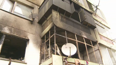Разследват умишлено убийство при пожара, при който загинаха две деца