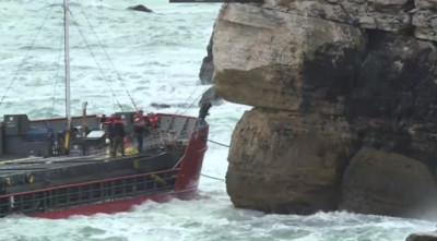 Евакуират моряците от Вера Су