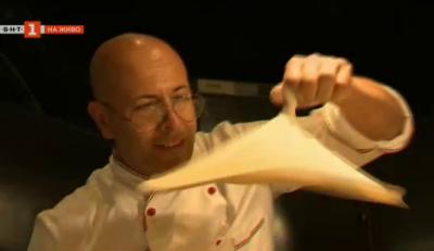 Пица, шоу и акробатика с шеф Паскуале Барбосо от Сицилия