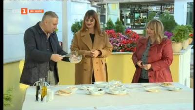 Целият екип на телевизионния център на БНТ в Русе се присъединява към инициативата ни Храна в кутия