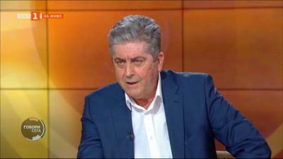 Георги Първанов: Късният Радев прилича на ранния Борисов