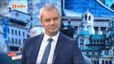 Костадин Костадинов: На 14 ноември ние ще избираме между безумието и здравия разум