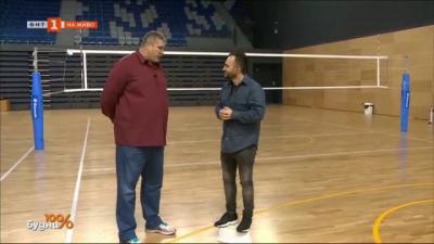 Среща с Любо Ганев - най-големия по ръст и слава състезател в историята на волейбола