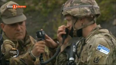 Започна отблокирането на пътищата между Косово и Сърбия