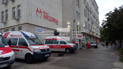 Пациентка запали стая в Ковид отделение в Русе
