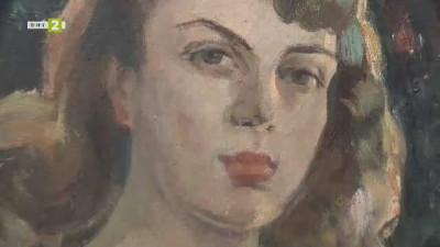 """Мариела Табакова от галерия """"Финес"""" представя изложбата на Мара Нонова – Чорбаджийска"""