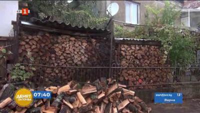 Проблеми с дървата за огрев в Черноморец