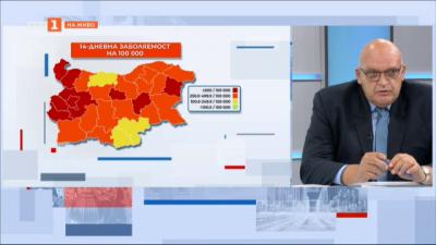 Д-р Николай Брънзалов: Европейските държава с 80% покритие с ваксина забравиха за COVID
