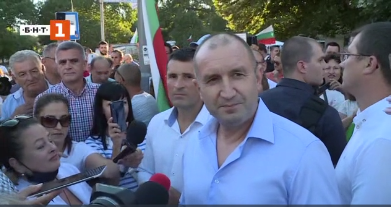 Bulgaria's President: The agenda is clear – immediate resignation of the government