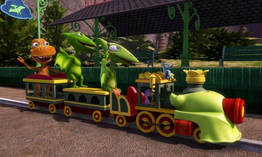 Влакът на динозаврите
