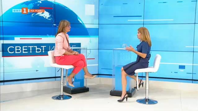 Министър Екатерина Захариева по темите на деня