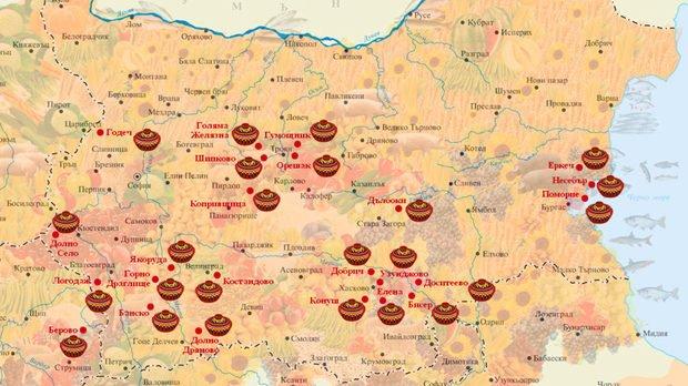 Какво представляват чеснало, карталачета и гаргалета? Кулинарната карта на България