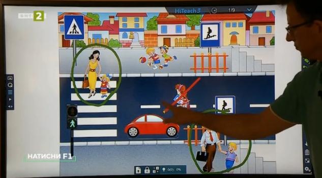 Интерактивна рамка за дисплей – първа част