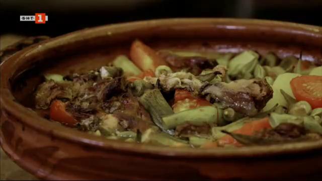 Есенен гювеч и супа с шилешко месо