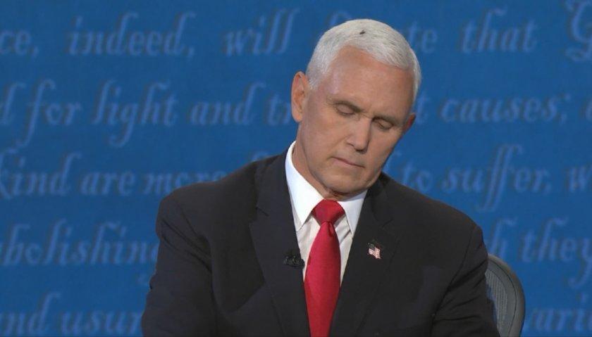 COVID-19 и една муха - център на вниманието във вицепрезидентския дебат в САЩ