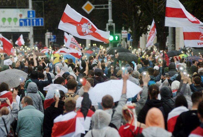 Продължаващите протести в Беларус