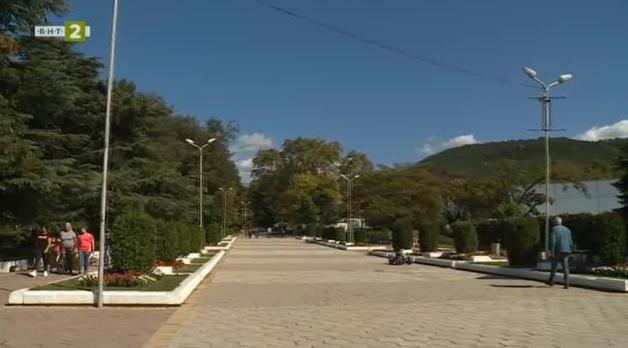 """Паркът """"Свети Врач"""" в Сандански"""