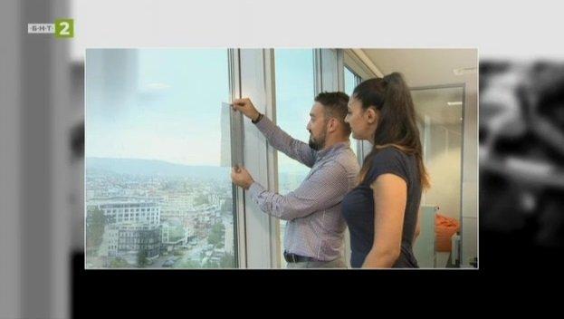 Филтър за прозорец, който ограничава фините прахови частици