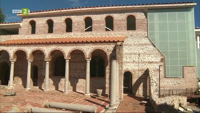 Епископският комплекс в Сандански