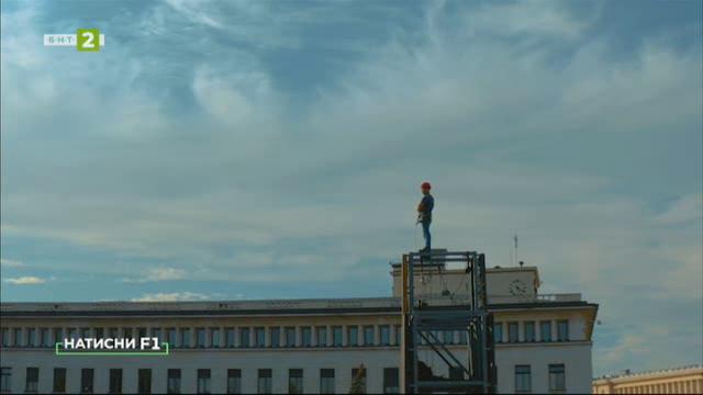 """""""Един човек"""" – дигитално изкуство в градската среда"""