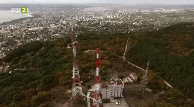 Телевизионната кула във Варна