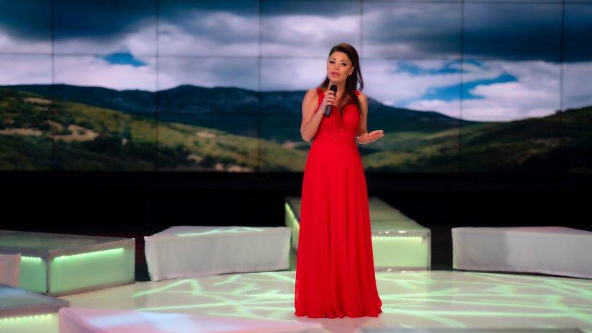 Талантливата и обичана певица Бойка Дангова