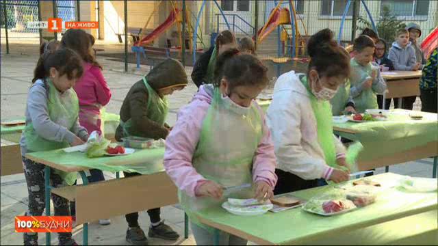 Социална кампания връща деца и родители към здравословното хранене