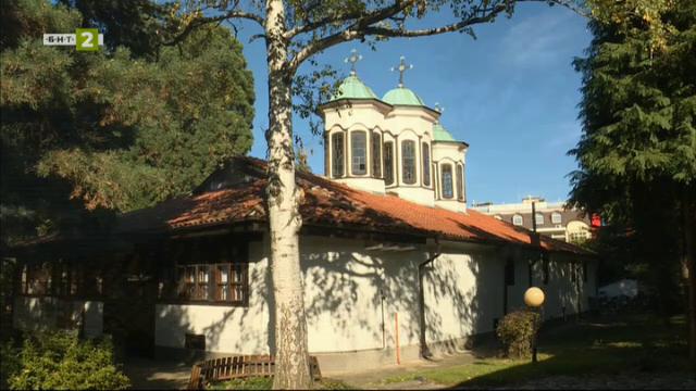 """Храмът """"Успение Богородично"""" в Кюстендил"""